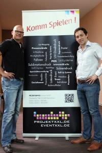 v.l.n.r: Holger Schwan & Daniel Müller